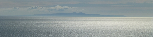 The Isle of Man, from St Bees Head