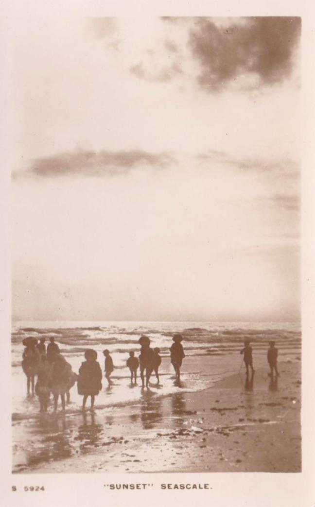 Seascale Sunset Postcard